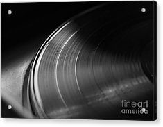 Vinyl Record And Turntable Acrylic Print