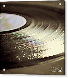 Acrylic Print featuring the photograph Vinyl Record by Lyn Randle