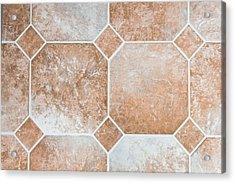 Vinyl Tiles Acrylic Print by Tom Gowanlock