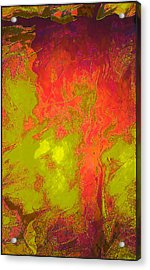 Violence Unleashed Again Acrylic Print by Aurora Art