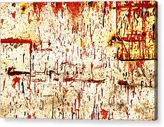 Violent Red Acrylic Print