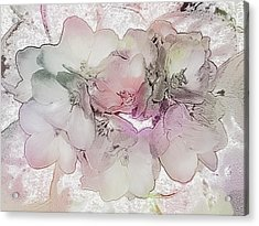 Violets Are Not Always Blue Acrylic Print