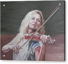 Violin Solo Acrylic Print