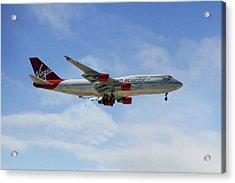 Virgin Atlantic Boeing 747-443 Acrylic Print