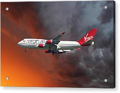 Virgin Atlantic Acrylic Print