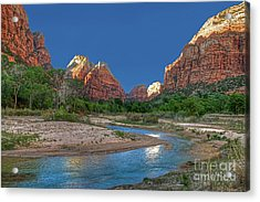 Virgin River Bend Acrylic Print
