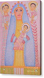 Virgin Saint Mary And Her Son Acrylic Print