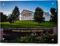 Virginia Capitol Building Acrylic Print