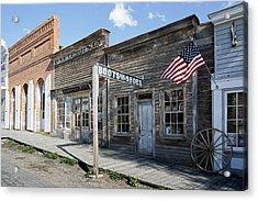 Virginia City Ghost Town - Montana Acrylic Print by Daniel Hagerman