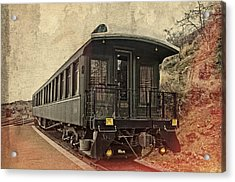 Virginia City Pullman Car Acrylic Print