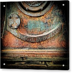 Virginia City Rust Acrylic Print by Steve Siri