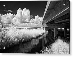 Virginia Dare Bridge 6303 Acrylic Print by Dan Beauvais