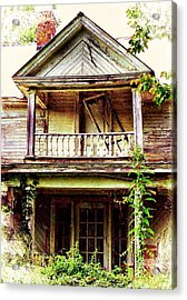 Virginia Mansion Acrylic Print by Julie Dant
