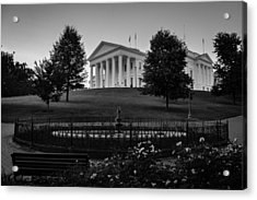 Virginia State Capitol Acrylic Print