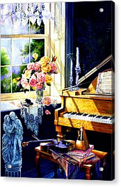 Virginia Waltz Acrylic Print