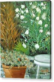 Virginia's Garden Acrylic Print