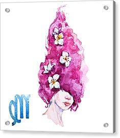 Virgo Acrylic Print
