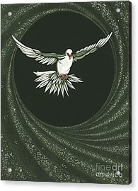 Viriditas-holy Spirit Detail Acrylic Print by William Hart McNichols