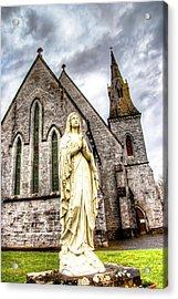 Virign Mary Acrylic Print