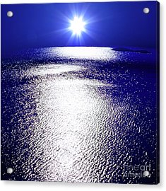Virtual Sea Acrylic Print