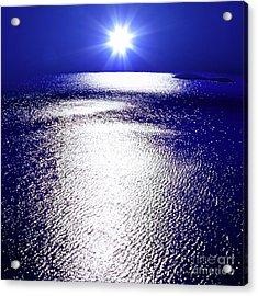 Virtual Sea Acrylic Print