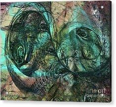 Virulent Germination Acrylic Print