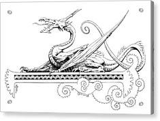 Viserion Logo Acrylic Print