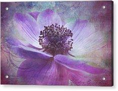 Vision De Violette Acrylic Print