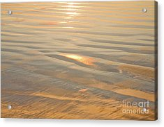 Vision Of Gold Acrylic Print