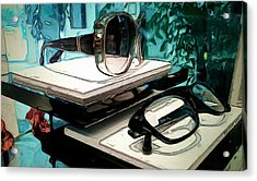 Vision Acrylic Print by Robert Smith