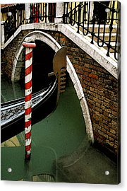 Acrylic Print featuring the photograph Visions Of Venice 1. by Nancy Bradley