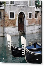 Acrylic Print featuring the photograph Visions Of Venice 3. by Nancy Bradley