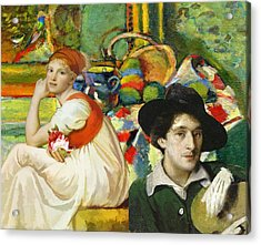 Visiting Matisse Acrylic Print