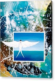 Visitor From Oceania Acrylic Print by Lee Pantas