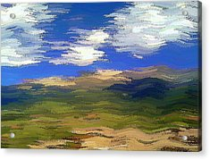 Vista Hills Acrylic Print