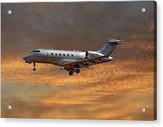 Vista Jet Bombardier Challenger 300 3 Acrylic Print
