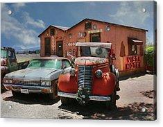 Acrylic Print featuring the photograph Vista Motel by Lori Deiter