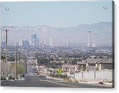 Vista Vegas Acrylic Print