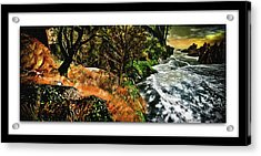 Vista World Acrylic Print by Monroe Snook