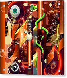 Visual Jazz Acrylic Print