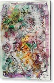 Visual Language Acrylic Print