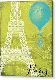 Viva La Paris Acrylic Print