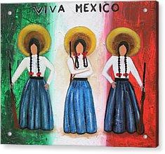 Viva Mexico Acrylic Print