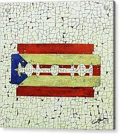 Viva Porto Rico Acrylic Print by Emil Bodourov