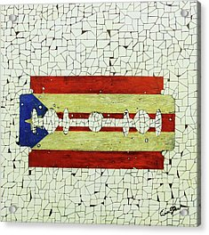 Viva Porto Rico Acrylic Print