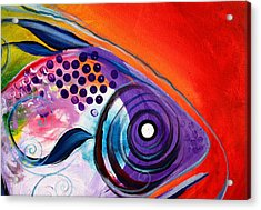 Vivid Fish Acrylic Print