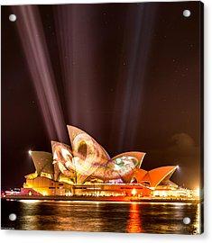 Vivid Opera House Acrylic Print
