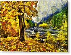 Vivid Pipeline Trail Acrylic Print