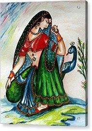 Viyog Acrylic Print by Harsh Malik