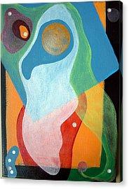 Voile Acrylic Print by Muriel Dolemieux